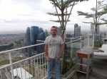 Singapur desde el restaurante Sky on 57 (Jose Ferri)