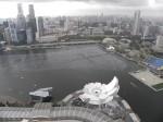 Bahia de Singapur desde el hotel Marina Bay (Jose Ferrri)