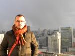 Atardecer en la terraza de un rascacielos de Osaka (Jose Ferri)