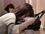 Osaka durmiendo