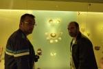 Dani y Jose Ferri en Museo del Oro