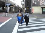vestido tradicional en las calles de Tokyo (Jose Ferri)