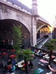 Bajo el puente de Lausanne