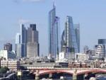 Pincale building con la city, Londres
