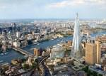 Vista de la city y el shard, Londres