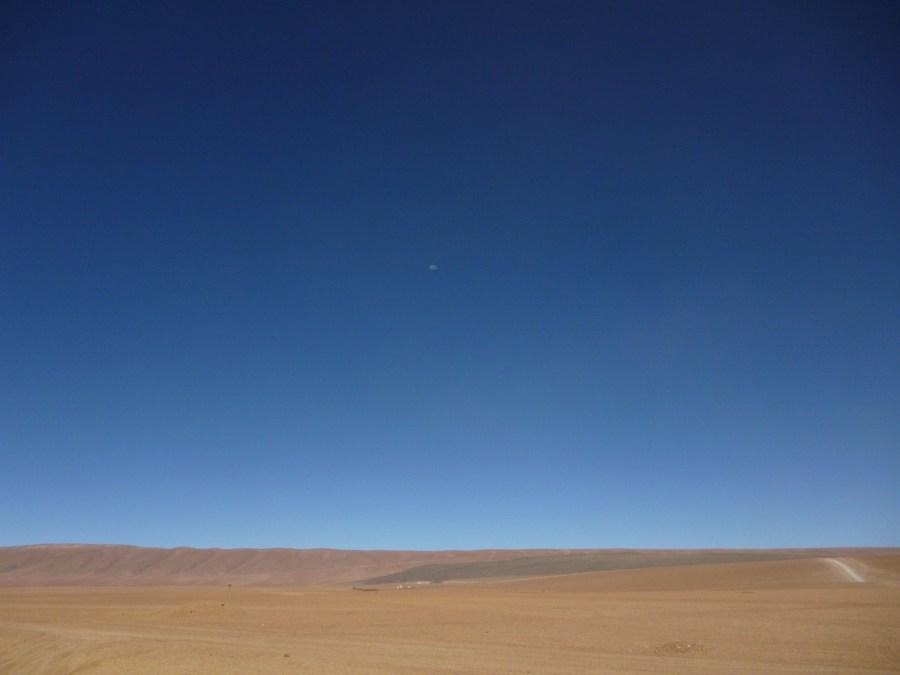 Desierto y luna (Jose Ferri)