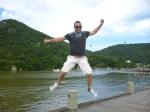 jumping in Balneario (Jose Ferri)