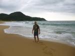 Praia Estaleirinho fin de la tarde (Jose Ferri)