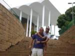 Con Nasser en Blumenau