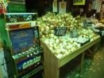 Cebollas y maquinas recreativas en la Vega (Jose Ferri)