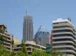 Las Condes con el rascacielos Costanera Center (Jose Ferri)