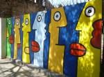 Grafitis en Lastarria (Jose Ferri)