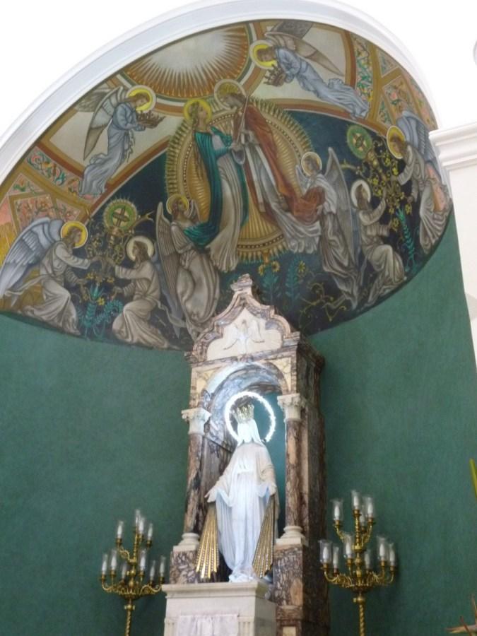 Virgen con neon (Jose Ferri)