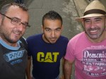 Con Dani y Ferney en Cali (Jose Ferri)