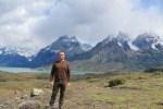 Jose Ferri en el mirador del Paine