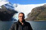 Jose Ferri en la Avenida de los glaciares
