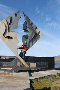 Jose Ferri en isla de Hornos