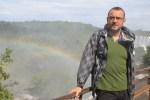 Jose Ferri en el paseo superior de Iguazú (Jose Ferri)