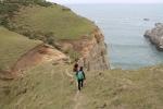 Bajando del acantilado_Jose Ferri