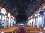 Interior iglesia Cucao