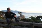 Jose Ferri en the lone Cypress