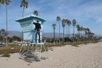 Miguel vigilando la playa de Santa Barbara_Jose Ferri
