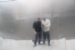 Miguel y Jose en el Walt Disney Auditorium