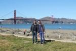 Miguel y Jose Ferri en Golden Gate